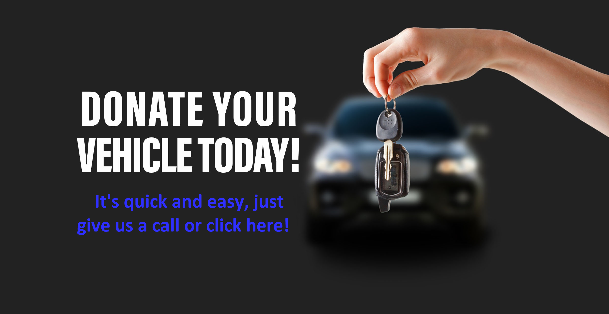 Donate Your Vehicle to SMC